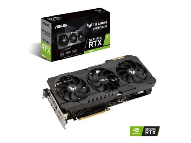 Asus GeForce RTX 3080 TUF Gaming OC Edition -näytönohjain 10GB GDDR6X