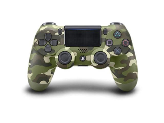 Sony PlayStation 4 DualShock 4 v2 ohjain Green Camouflage