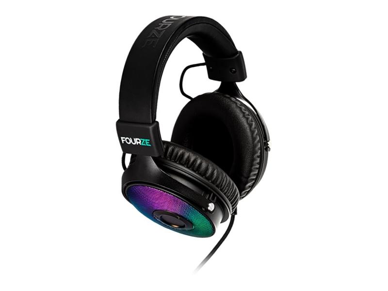 Fourze GH350 Gaming Headset USB  RGB 7.1 Surround -pelikuulokkeet RGB valoilla