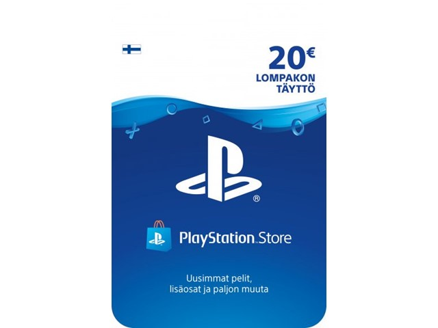 Sony PlayStation Network 20 EUR PSN-latauskortti