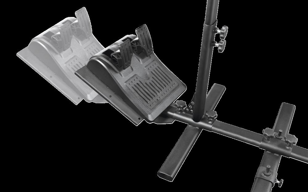 Trust GXT 1150 Pacer ajoteline rattiohjaimille -pelituoliin kiinnitettävä