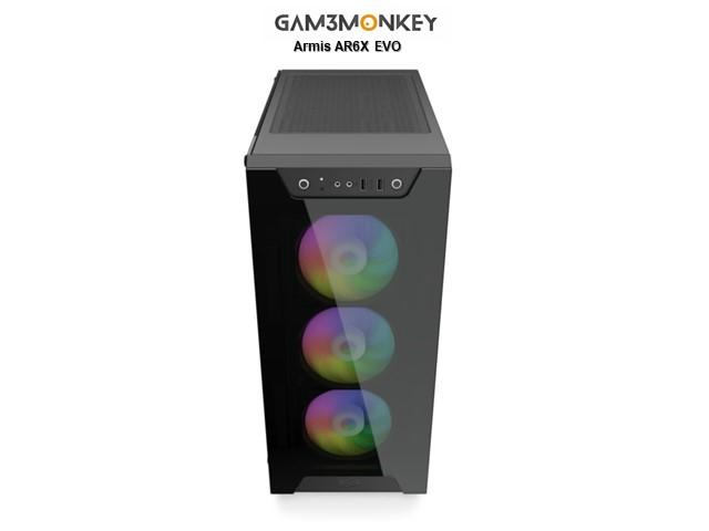 GMC Ampere R7 Ryzen 7 3700X 4.4 GHz Geforce RTX 3080 10GB