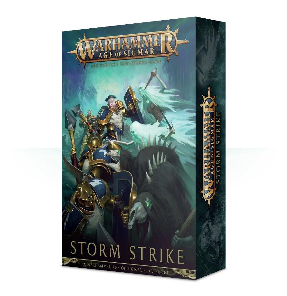 Warhammer Age of Sigmar Storm Strike aloituspakkaus -lautapeli