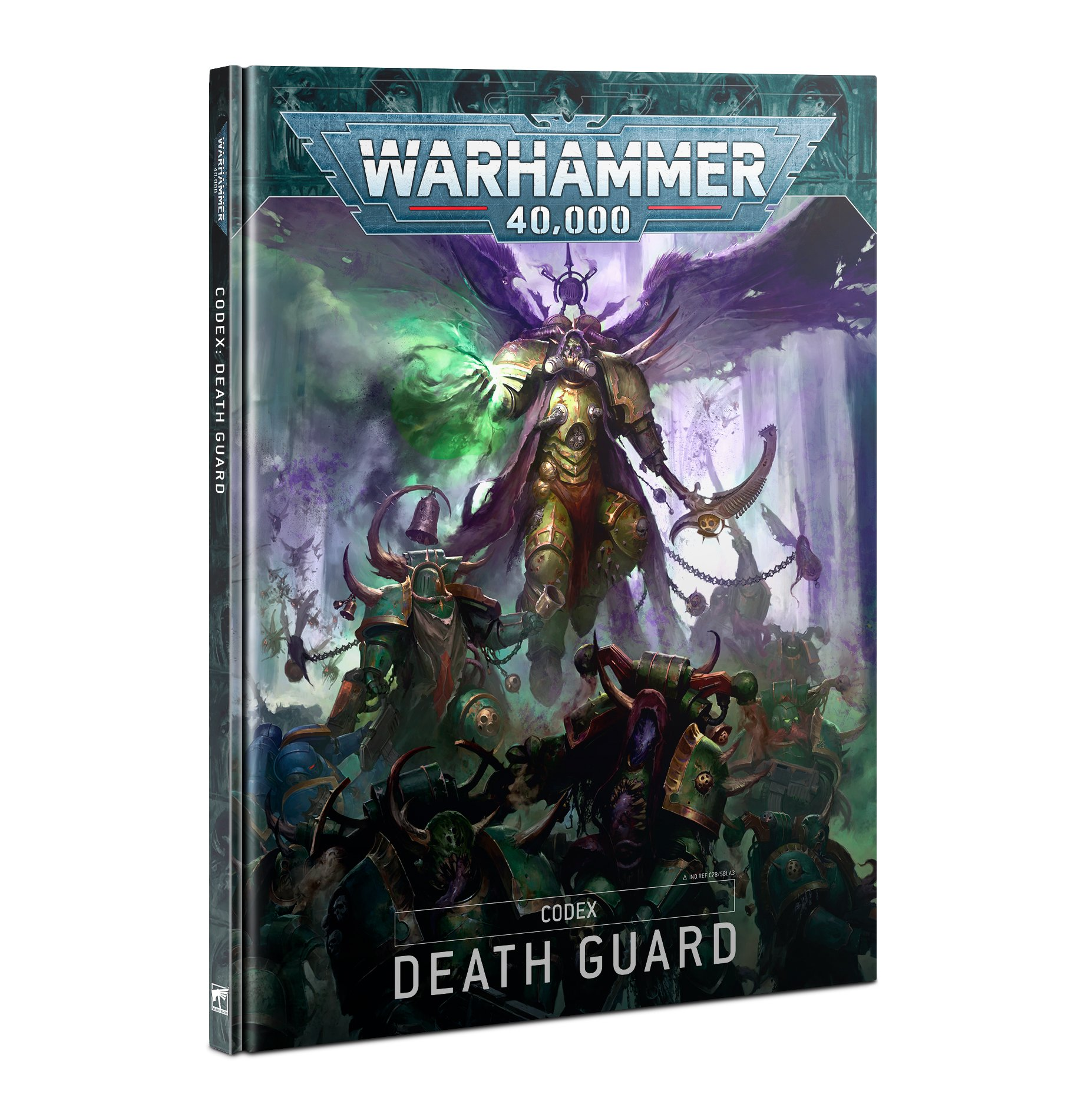 Warhammer 40,000 Death Guard Codex 9th edition