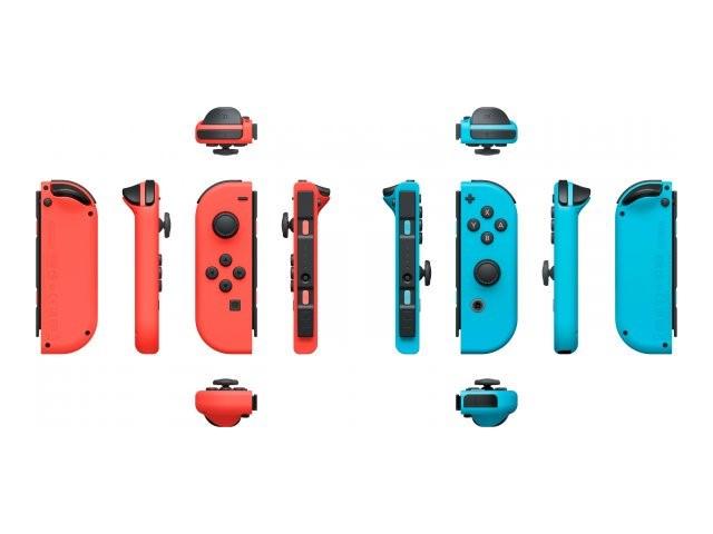 Nintendo Joy-Con peliohjain pari Neon Punainen/Neon Sininen