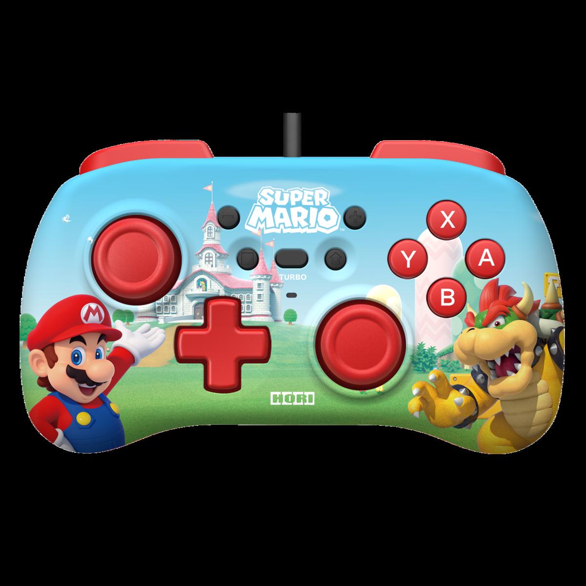 Hori Nintendo Switch Horipad mini Super Mario -peliohjain langallinen