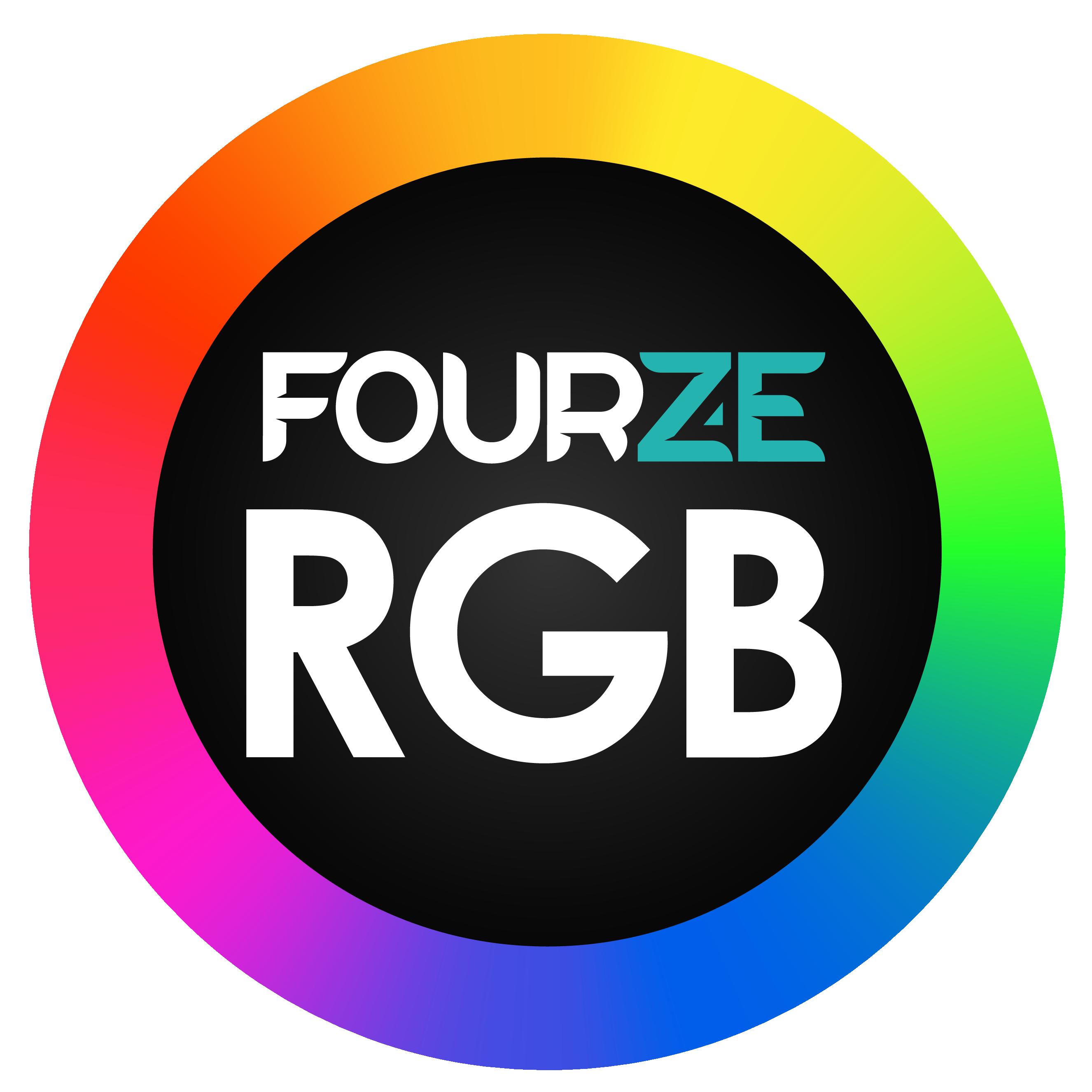 FOURZE GM800 Pelihiiri RGB - musta