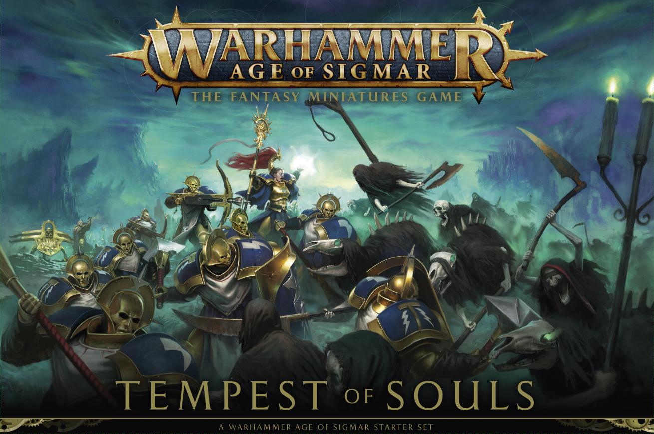 Warhammer Age of Sigmar Tempest of Souls aloituspakkaus -lautapeli