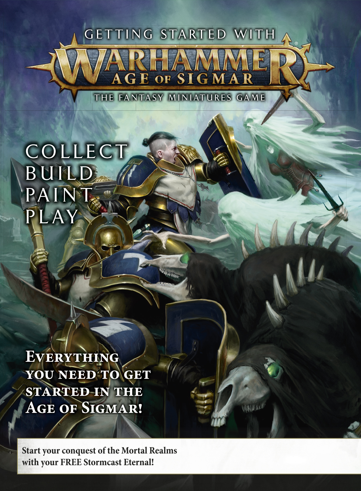 Warhammer Age of Sigmar Getting started with Warhammer age of Sigmar -aloituspakkaus