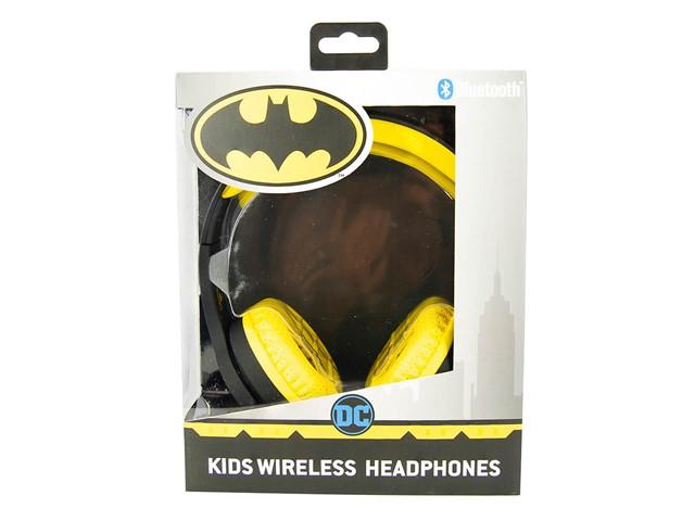 BATMAN Kuulokkeet Junior Bluetooth On-Ear 85dB Langaton Musta Logo
