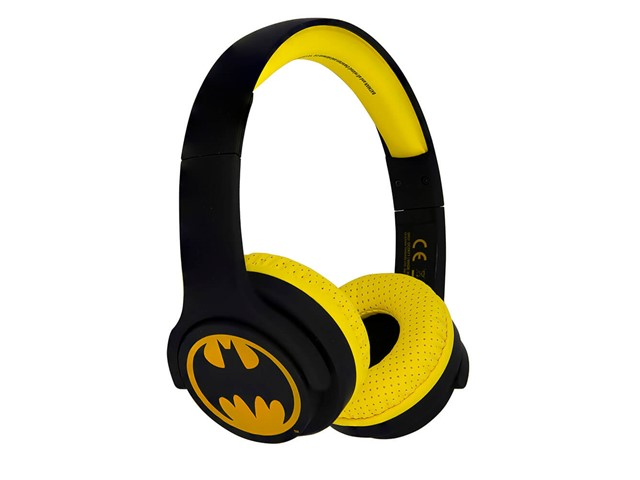 BATMAN Kuulokkeet Junior Bluetooth On-Ear 85dB Langaton Musta Logo