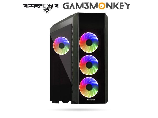 GMC RARE J20-TG Ryzen 5 3600 4.2 GHz AMD Radeon 5600XT 6GB