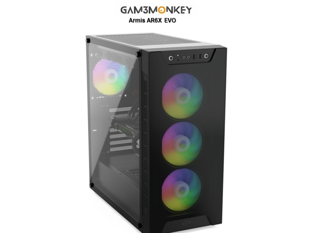 GMC RARE J20-TG i5-10600K 4.8GHz Radeon RX 5600XT 6GB