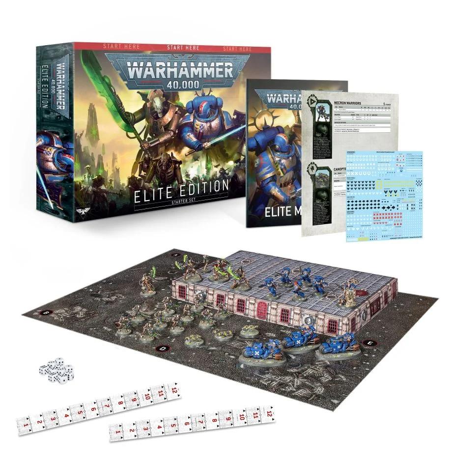 Warhammer 40,000 Elite Edition (9th edition) aloituspakkaus -lautapeli