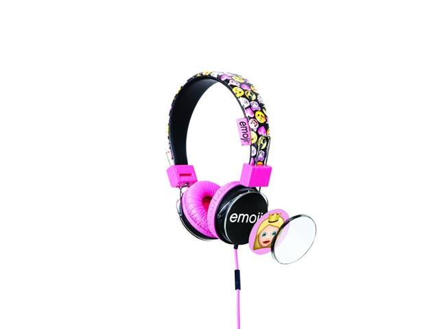 Lazerbuilt Emoji kuulokkeet Keltainen tai Pinkki dB rajoitetut