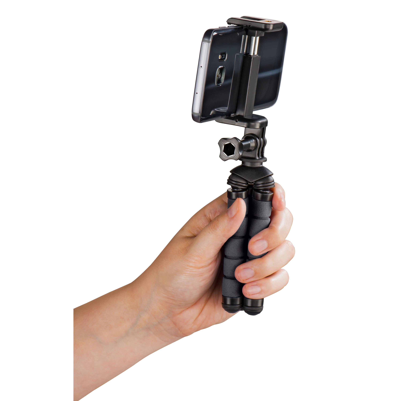 HAMA Pöytäjalusta Flex Matkapuhelin & GoPro 14cm -kuvausjalusta