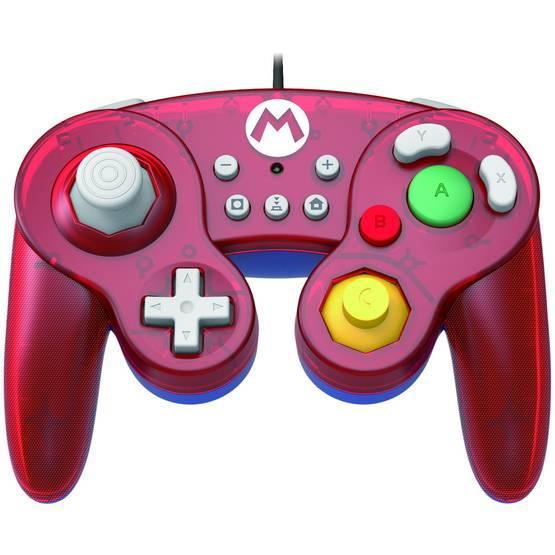 Hori Nintendo Switch Battle Pad Mario -peliohjain langallinen