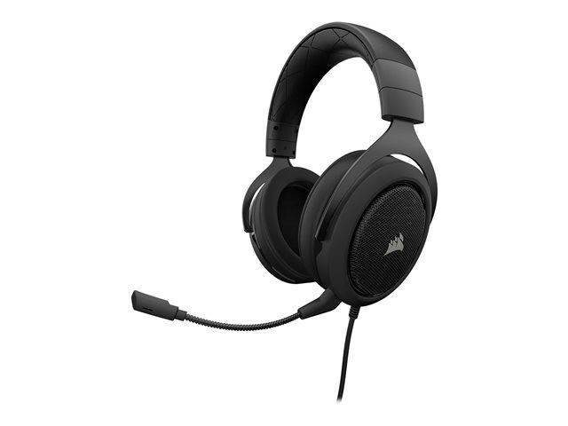 CORSAIR HS50 Gaming Headset Carbon pelikuulokkeet