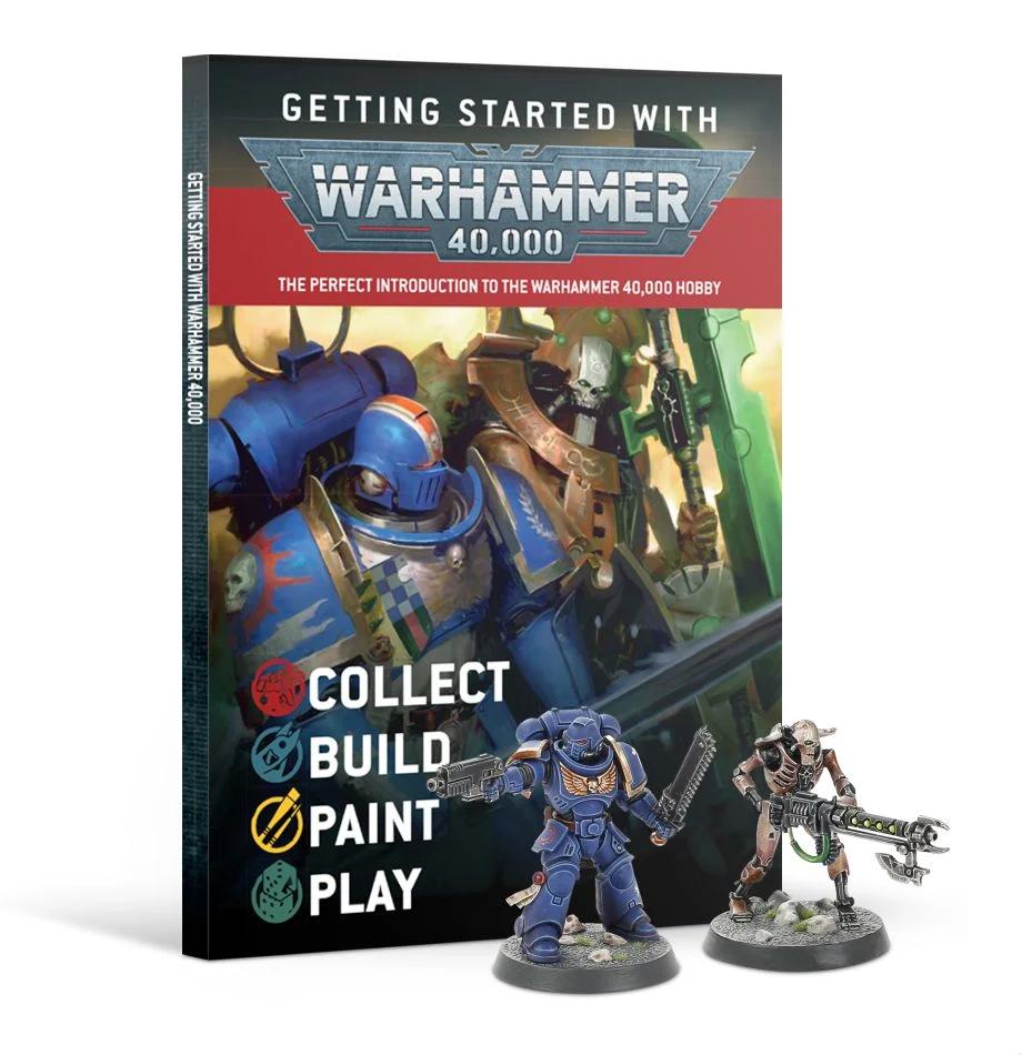 Getting Started with Warhammer 40,000 -kirja harrastuksen aloittamiseen