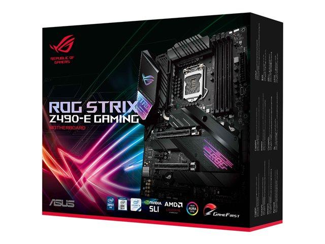 ASUS ROG Strix Z490-E Gaming ATX Wifi & Bluetooth -emolevy Intel Z490 piirisarja LGA1200