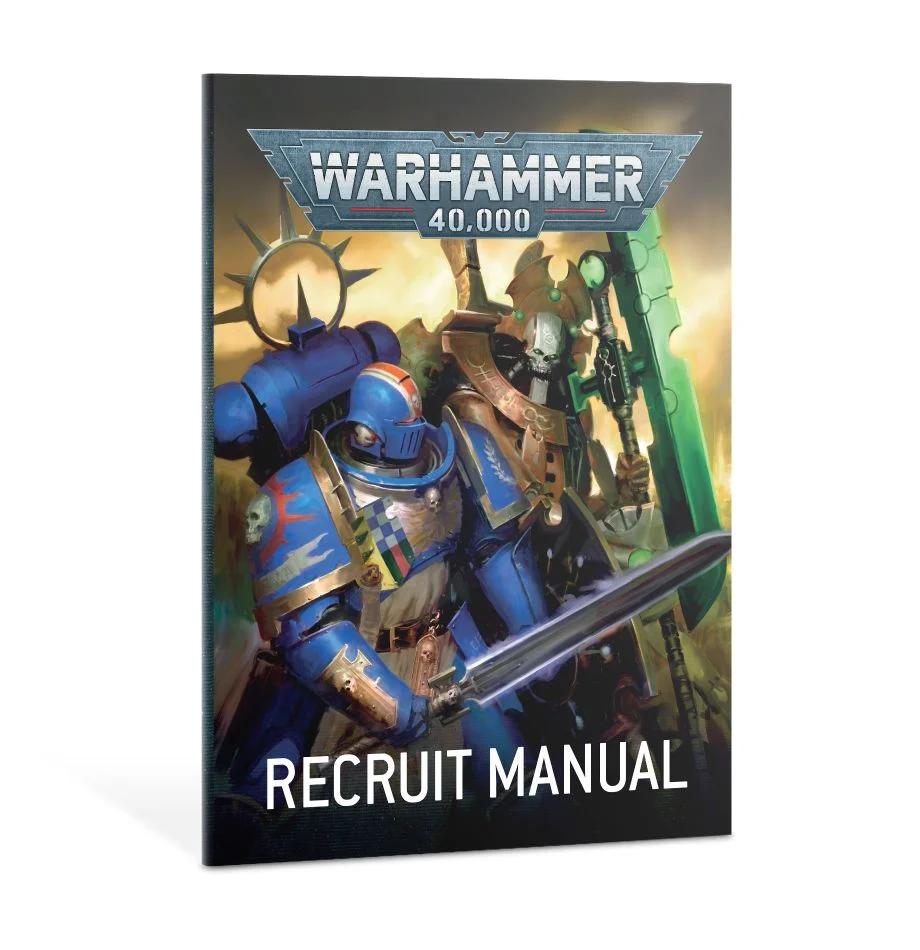Warhammer 40,000 Recruit Edition (9th edition) aloituspakkaus -lautapeli