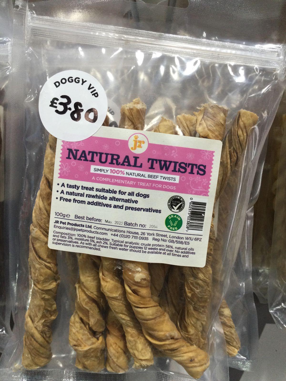 Natural twists JR