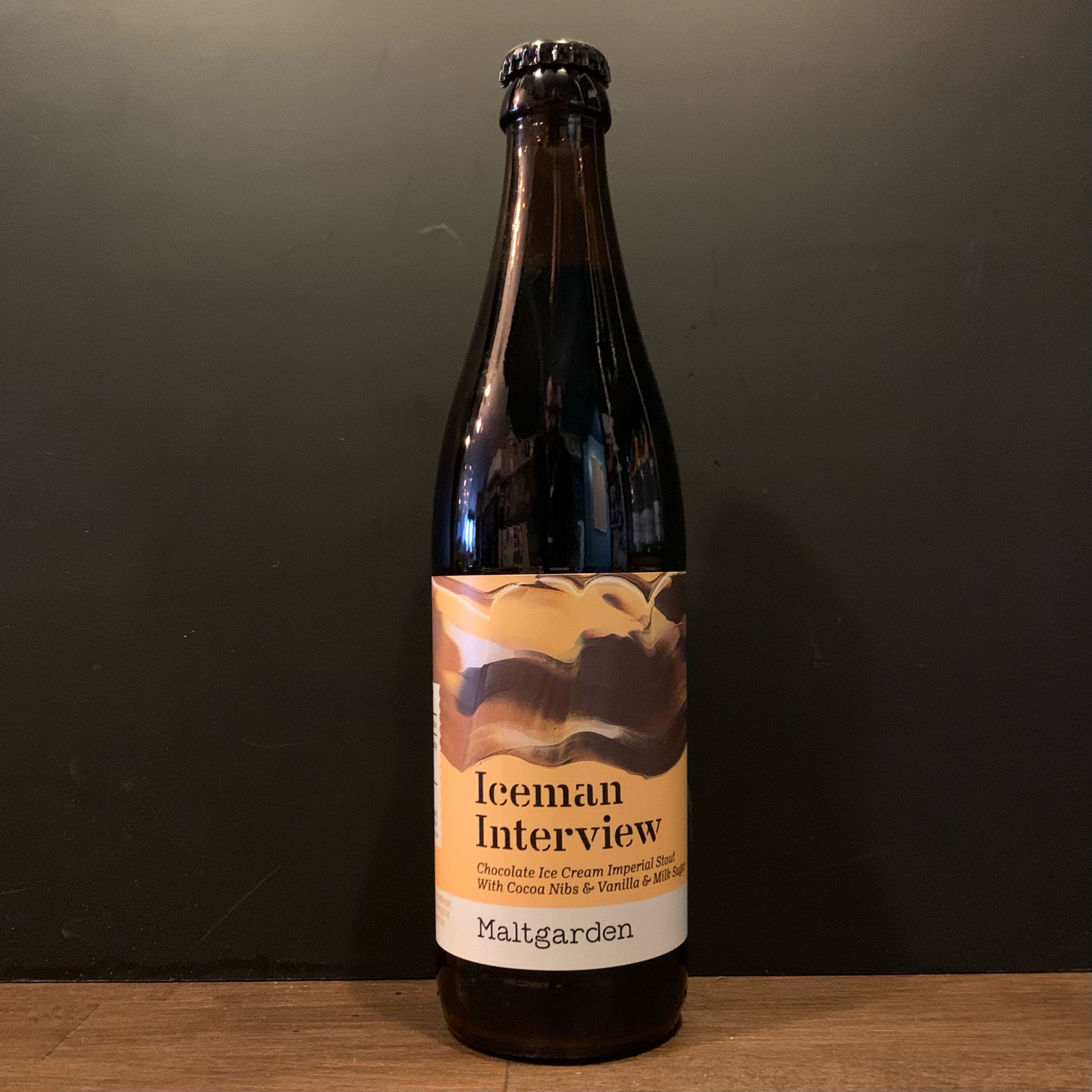 Maltgarden - Iceman Interview - Imperial Pastry Stout - 10%