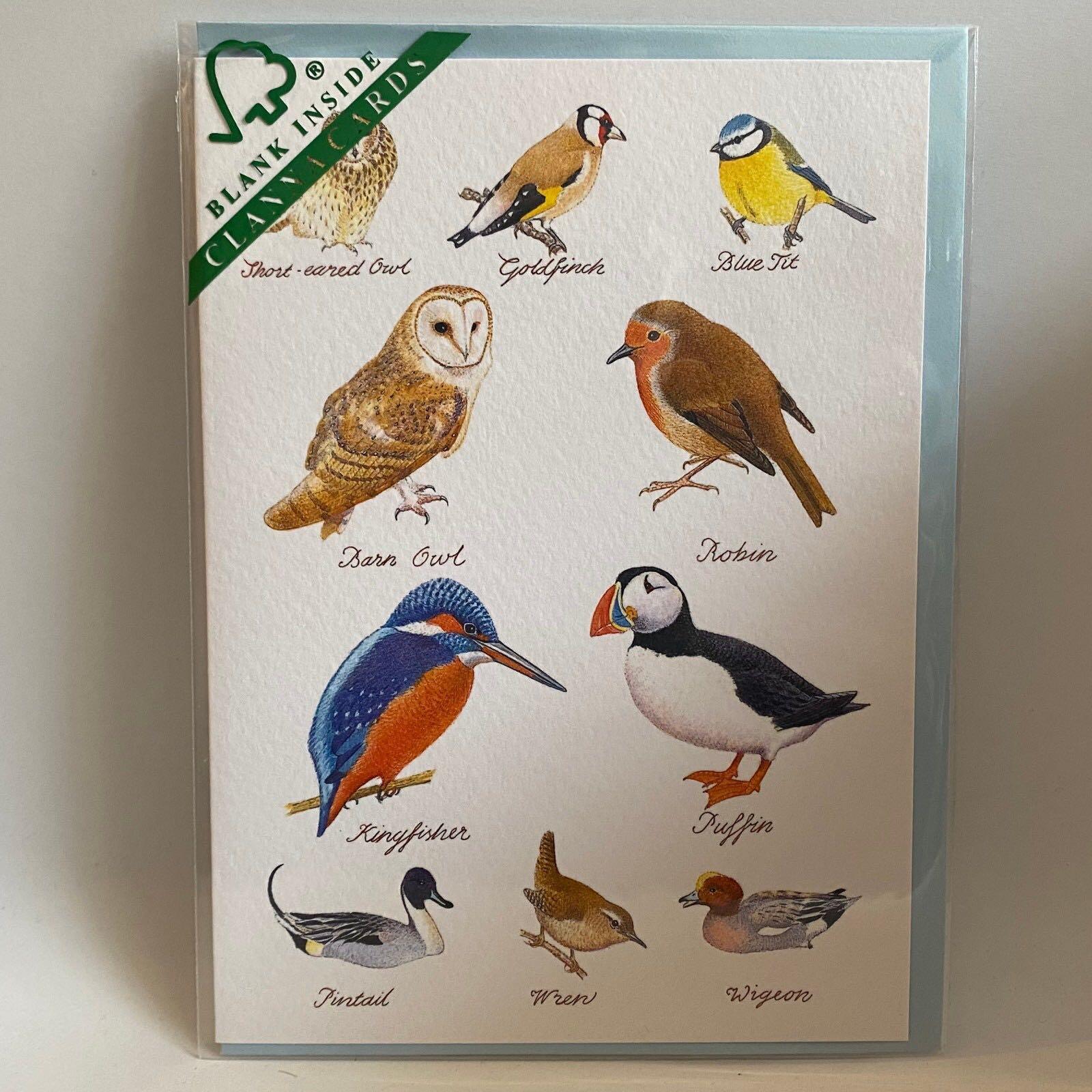 'British Birds' Clanna Card