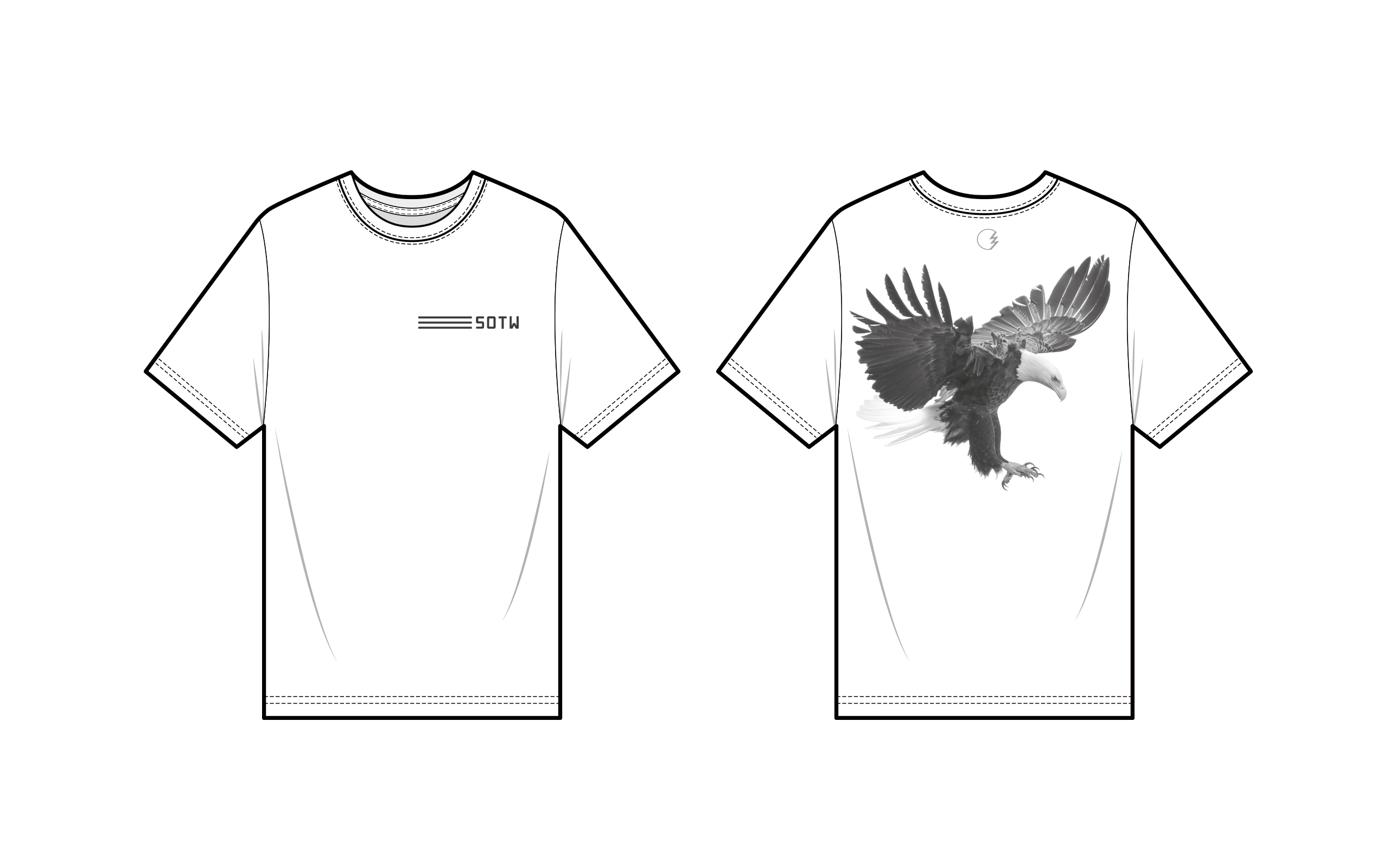 Sound of the Weekend Eagle Tee