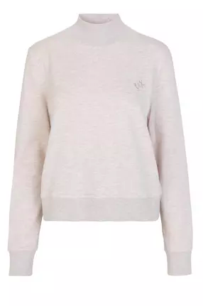 Sweater, Just Female, Halsey Sweat Blouse, Oatmeal