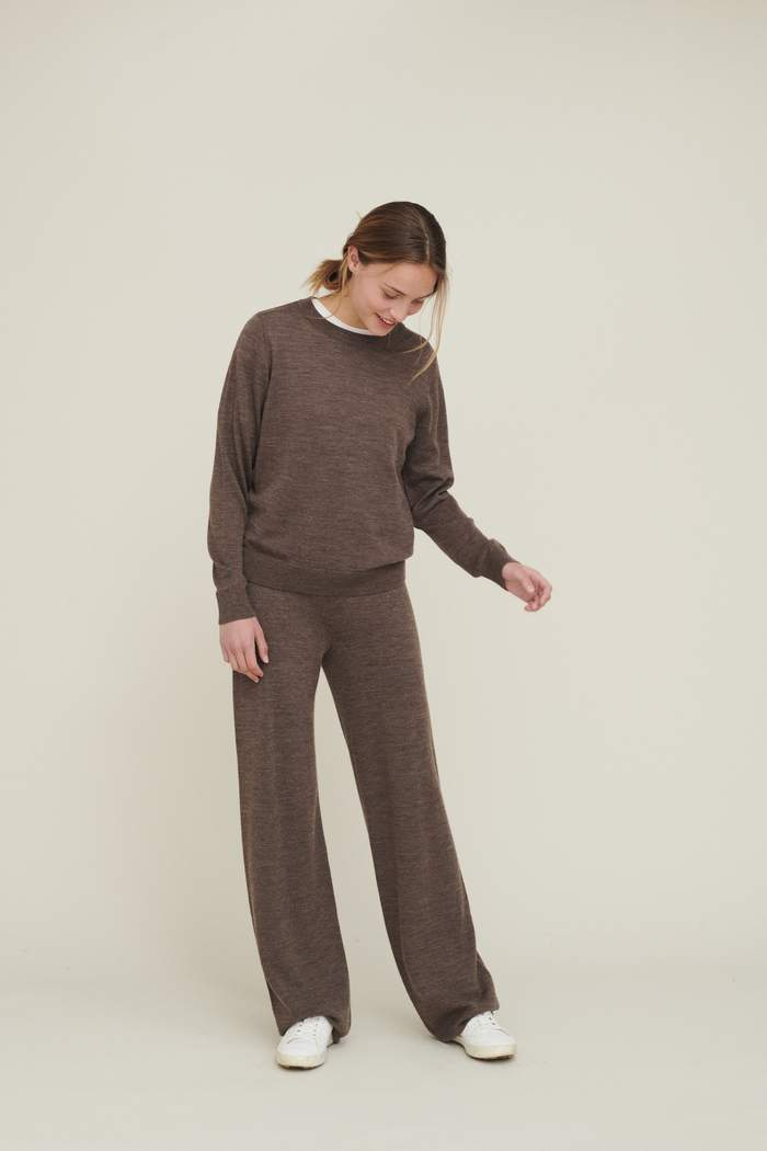 Byxor, Basic Apparel, Vera Wide Pants
