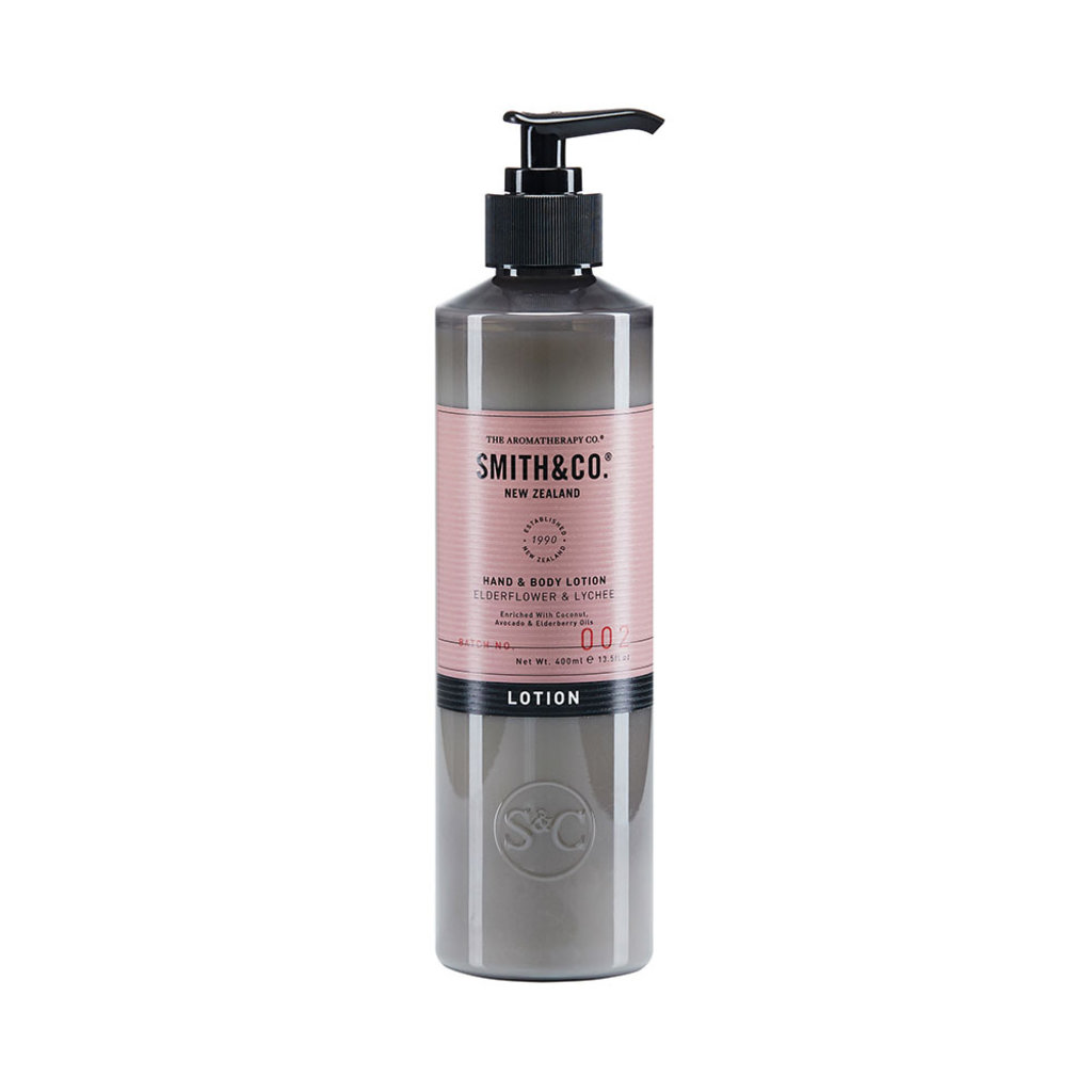 Bodylotion, Smith & Co, Elderflower & Lychee