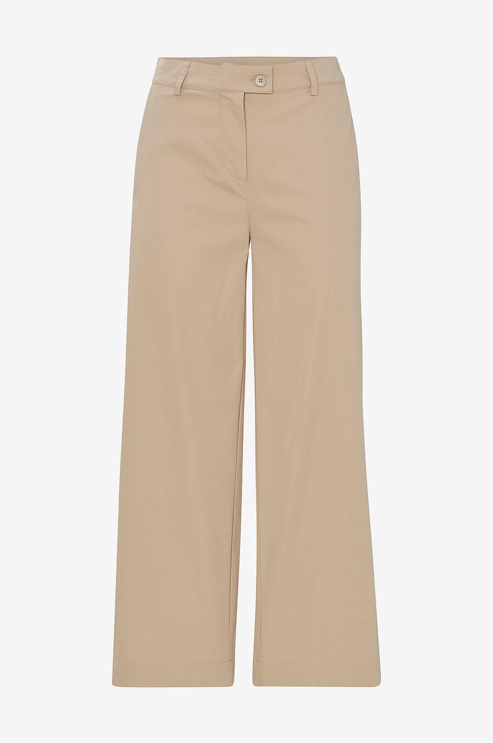 Chinos, Second Female, Khaki MW Trousers