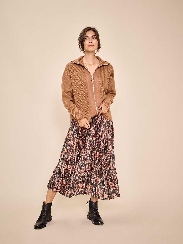Kjol, Mos Mosh, Plisse Forest Skirt