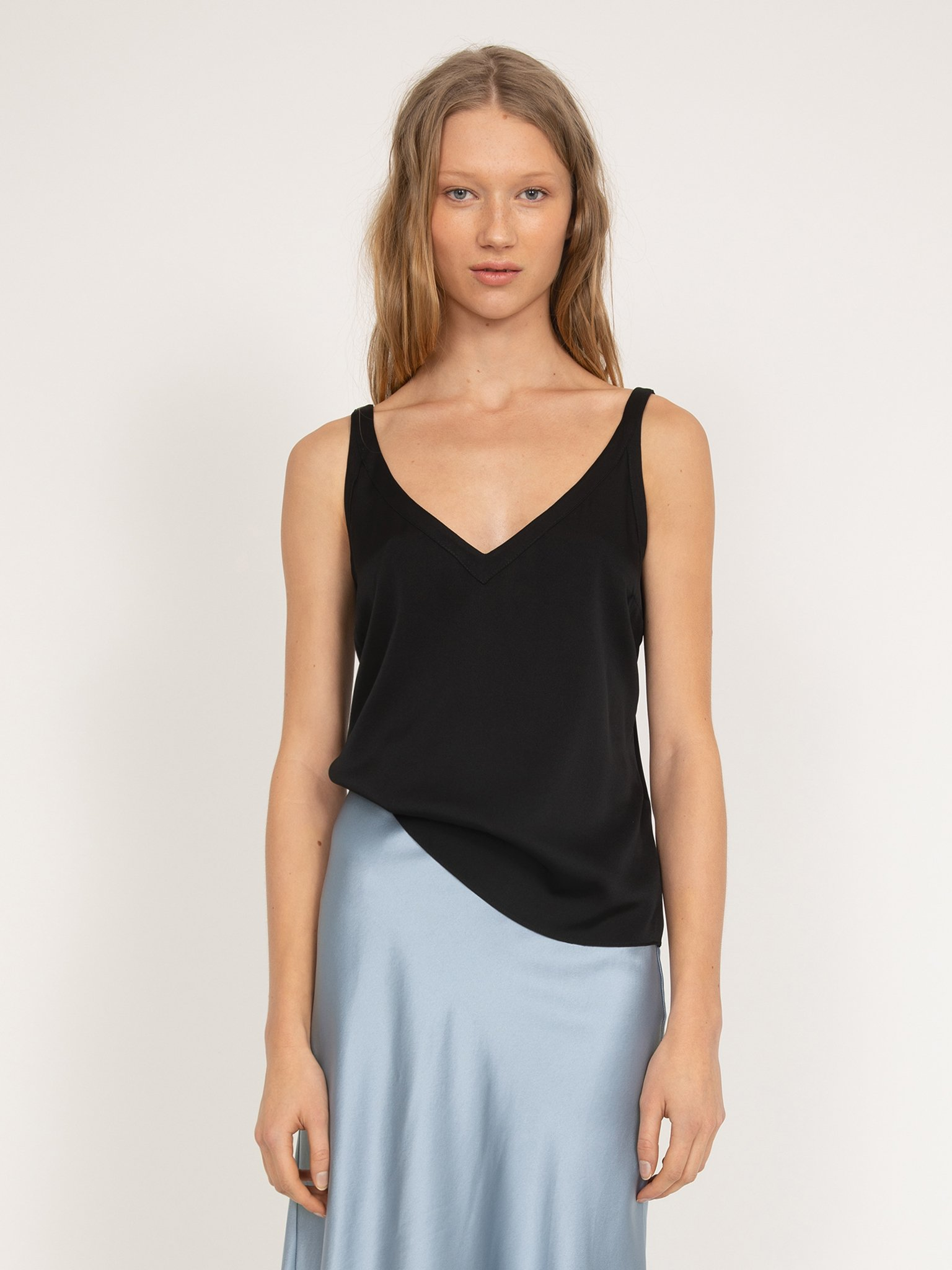 Linne, Ahlvar Gallery, Shin Tank Top, Black