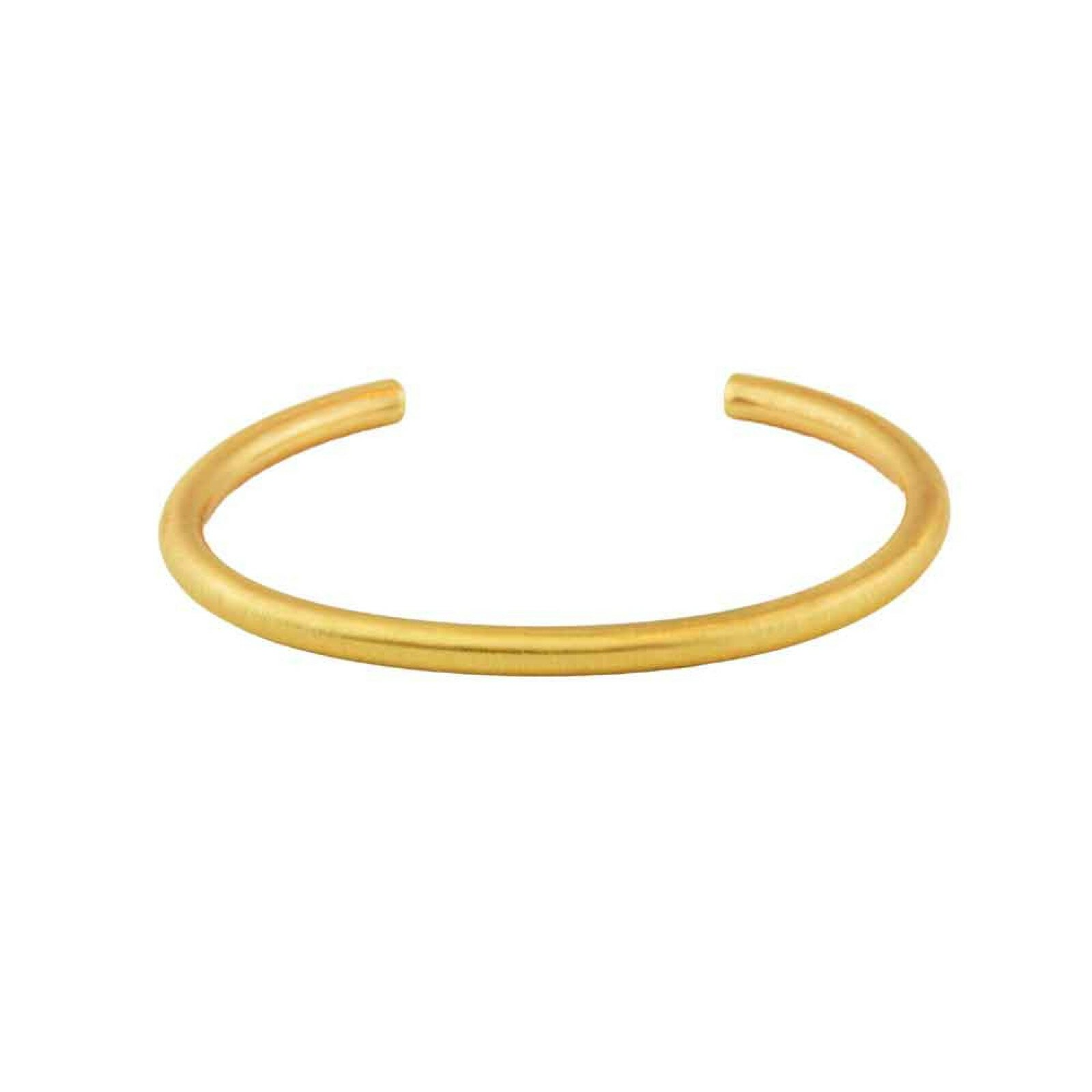 Armband, DNSK, Infinity Open Bangle Guld