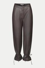 Skinnbyxor, Just, Fall Leather Trousers