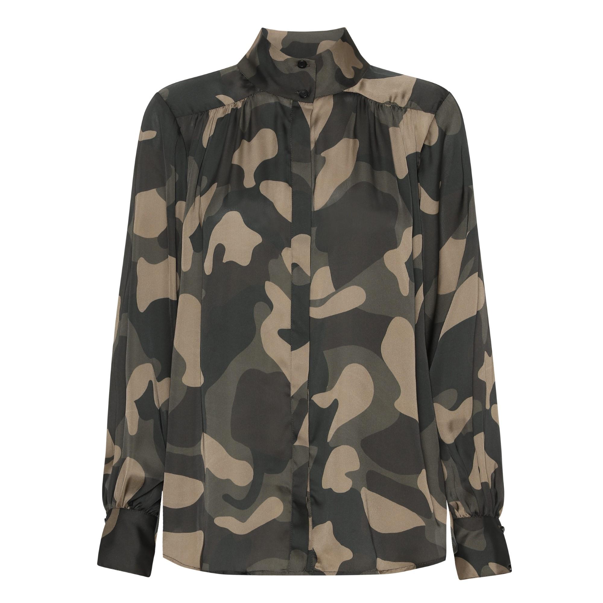 Blus, Karmamia, Noelle Shirt Camouflage