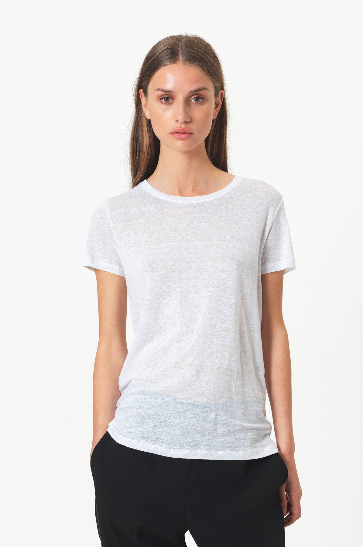 T-Shirt, Second Female, Peony O-Neck Tee