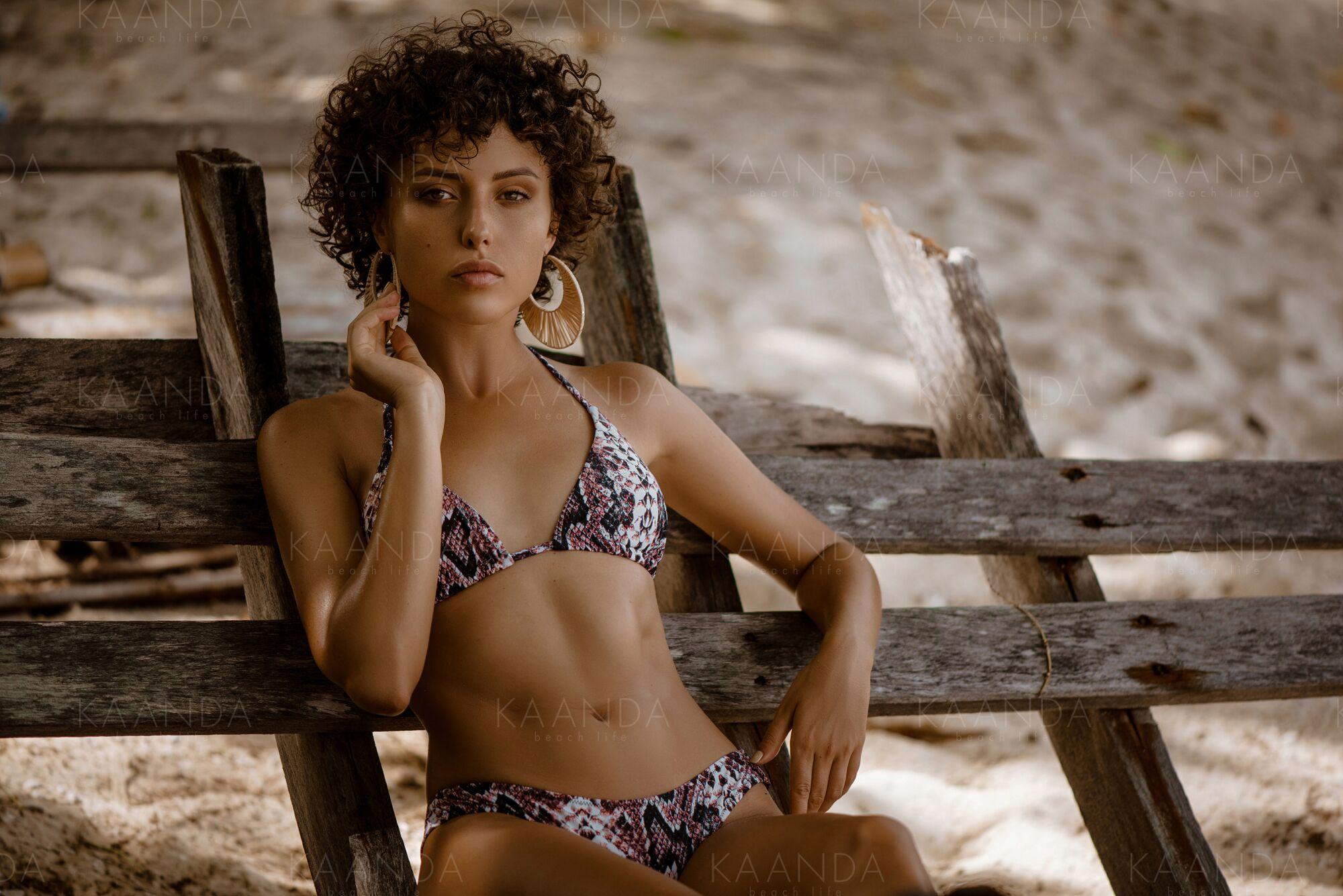 Bikinitop Trekant, Kaanda Beach Life, Stella snake Surf