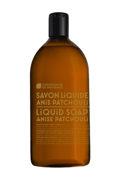 Flytande tvål refill, Compagnie de Provence, Anise Patchouli,  1000 ml