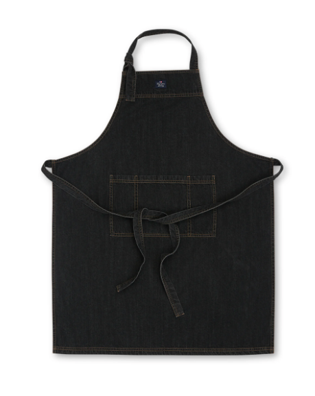 Förkläde, Lexington, Black Denim Apron