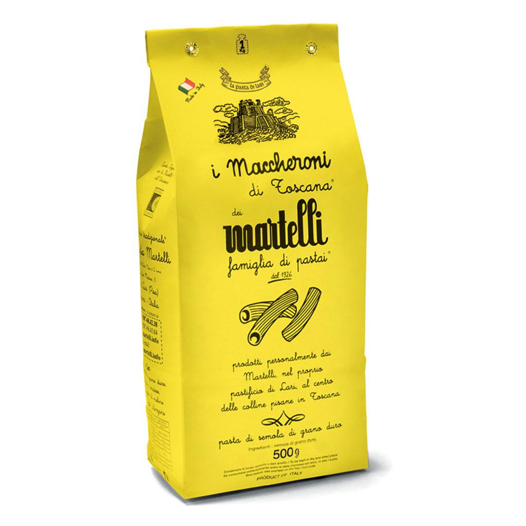Pasta, Martelli, Maccheroni