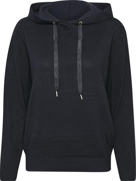 Hoodie, Saint Tropez, AdithaSZ Pullover, svart
