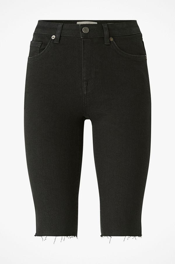 JeansShorts, Selected Femme, Slfida MW Skinny, Black Shorts