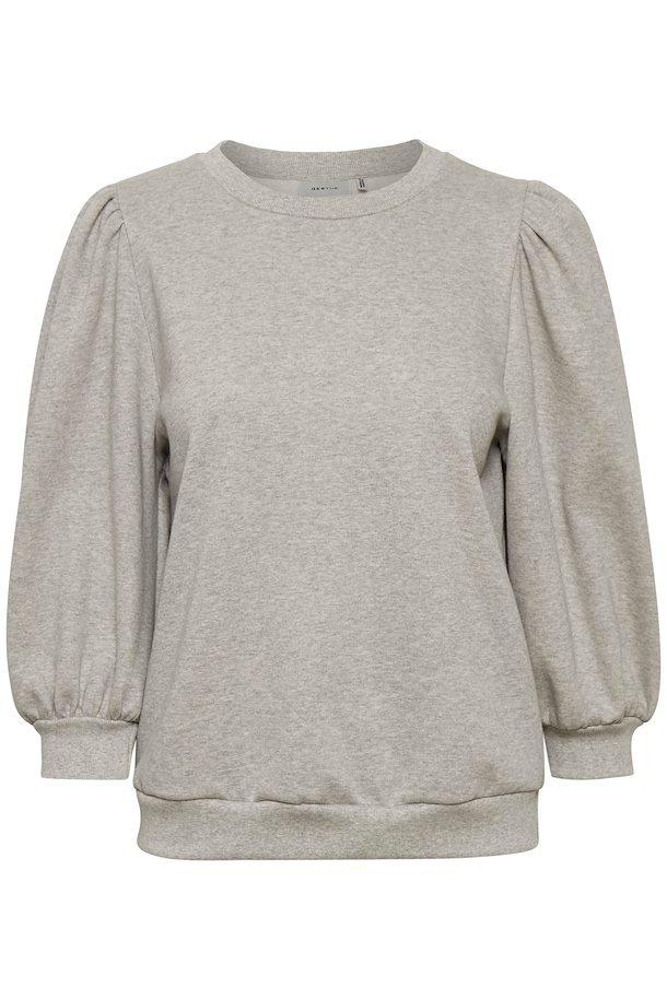 Tröja, Gestuz, Nankita Sweatshirt, Grey melange