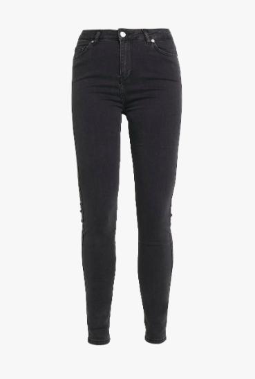 Jeans, Jade HW, Skinny, Grey Stone wash