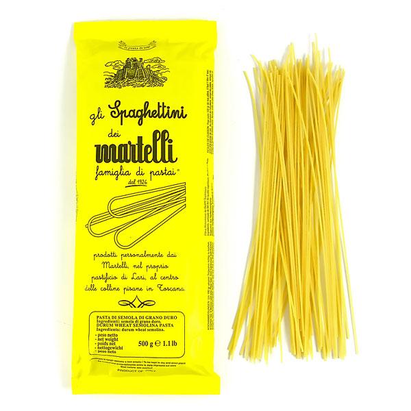 Pasta, Martelli, Tjock Spagetti