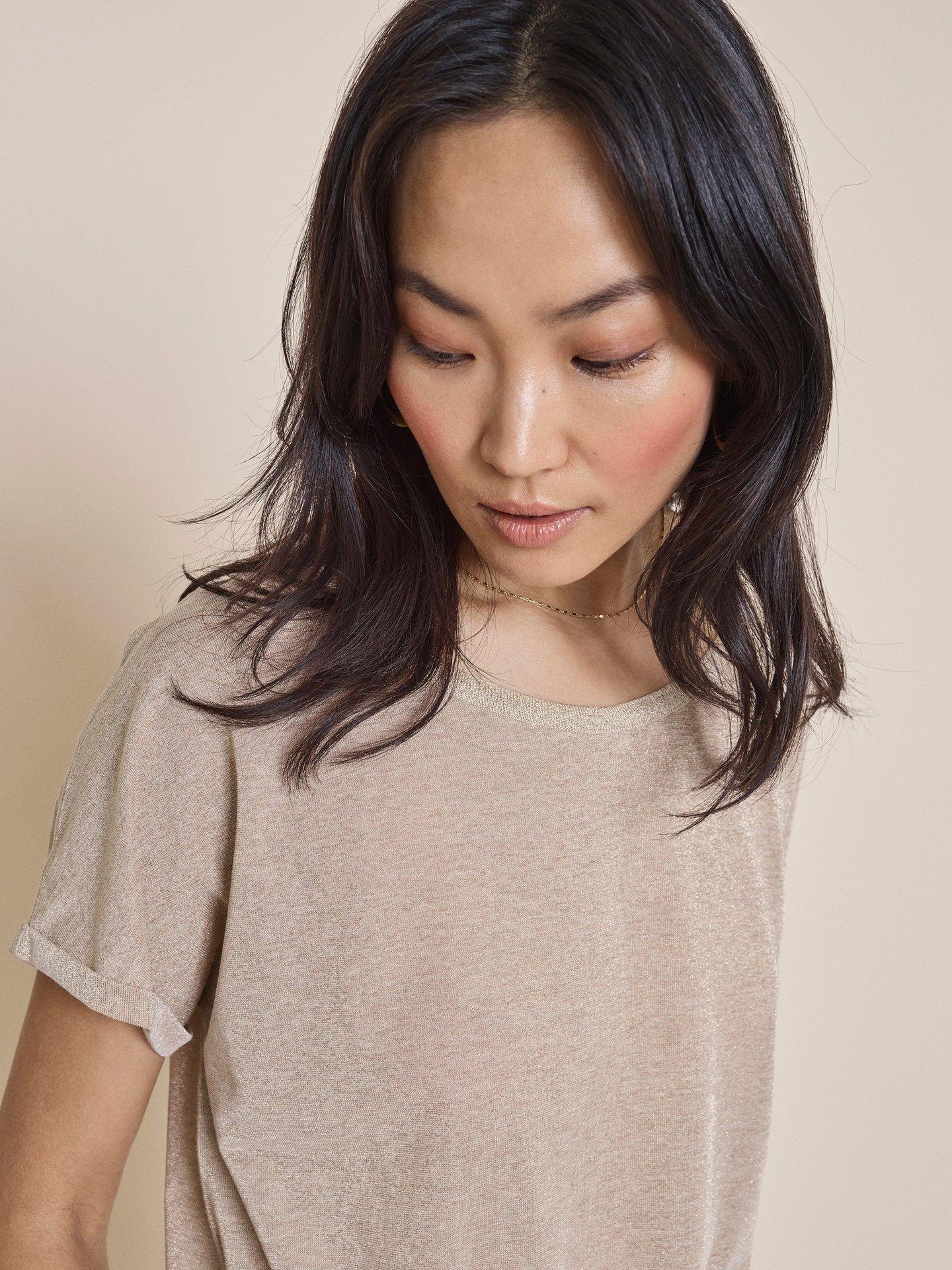 T-Shirt, Mos Mosh, Kay Tee, Gold