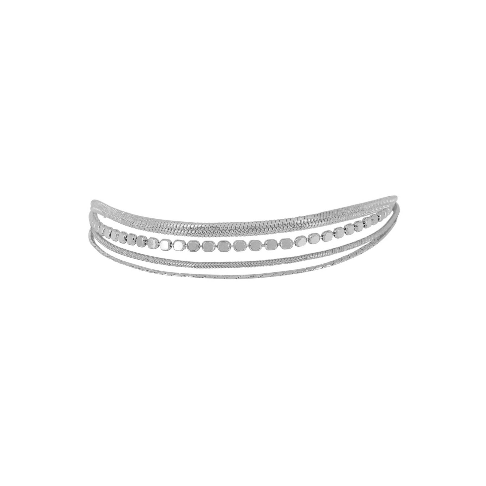 Armband, DNSK, Indian Rain Silver